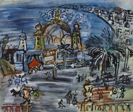 Raoul Dufy-Le Carnaval A Nice-1927