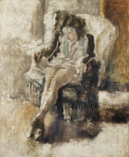 Jules Pascin-Jeune Fille Assise-1923