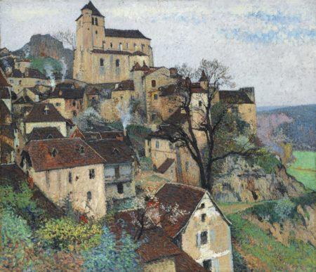 Henri Martin-Vue De Saint-Cirq Lapopie-