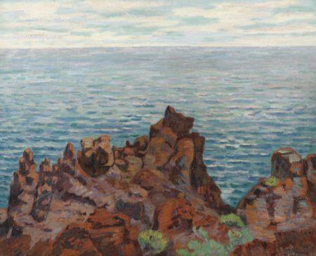 Jean-Baptiste Armand Guillaumin-Les Roches Rouges, Pointe De La Male Raigue-1899