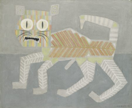 Victor Brauner-L'Arriere Chat - Grand Chat-1962