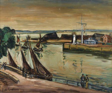 Othon Friesz-L'Entree Du Port A Honfleur-
