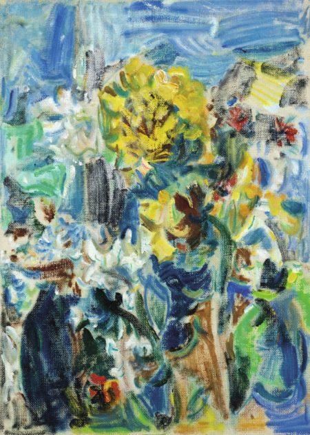 Wu Dayu-Flowers-1960