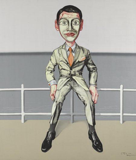 Zeng Fanzhi-Mask Series No. 6-2000