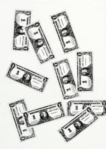 Andy Warhol-Ten One Dollar Bills-1962