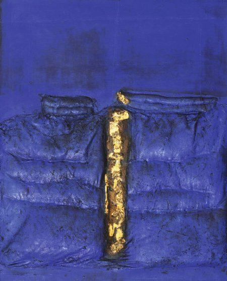 Ahmad Sadali-Lelehan Emas Pada Bidang Ultramarin (Molten Gold On A Field Of Ultramarine)-1973