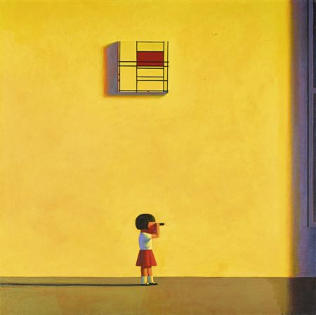 Liu Ye-Mondrian In The Afternoon-2001