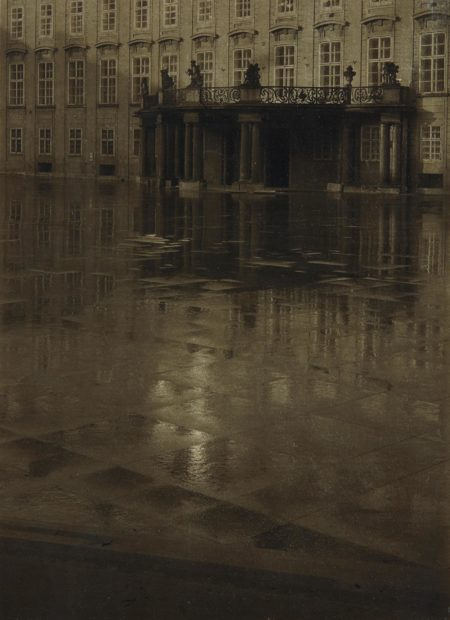 Josef Sudek-The Third Courtyard of Prague Castle-1947