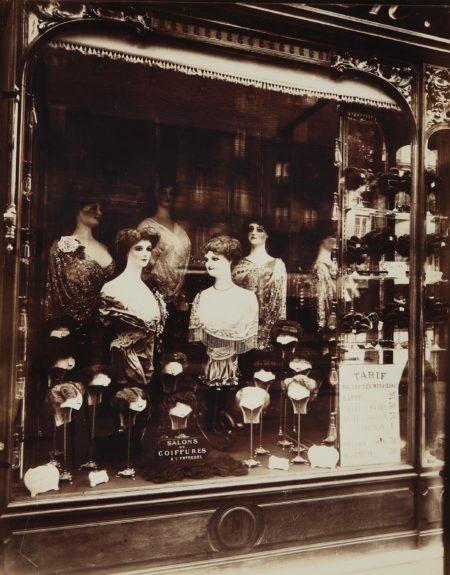 Eugene Atget-Boutique Coiffeur, Boulevard de Strasbourg-1912