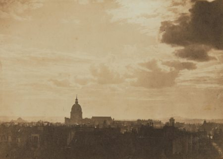 Charles Marville-Sky Study, Paris-1857