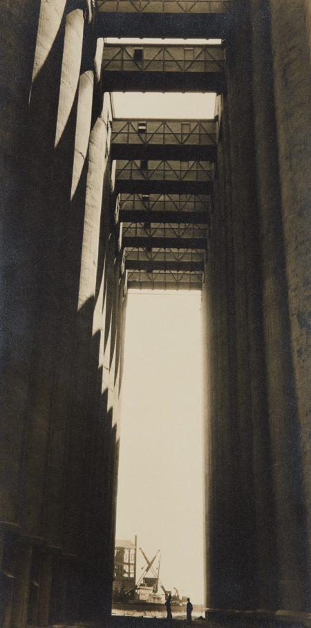Rosenbaum Grain Elevators, Chicago, IL. (Our 'temple view')-1935