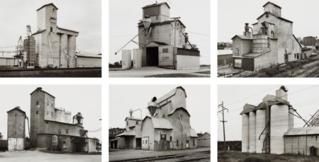 Bernd and Hilla Becher-Grain Elevators-1986