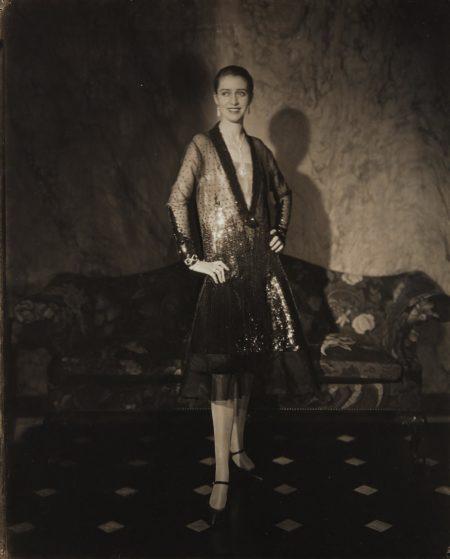 Edward Steichen-Cheruit Gown (Marion Morehouse) (Mrs. E.E. Cummings)-1927