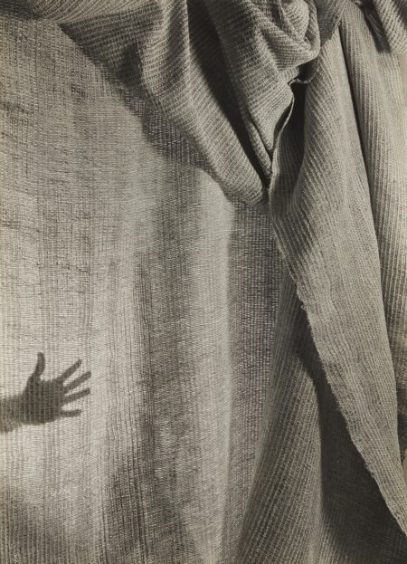Imogen Cunningham-Hand Weaving with Hand-1946