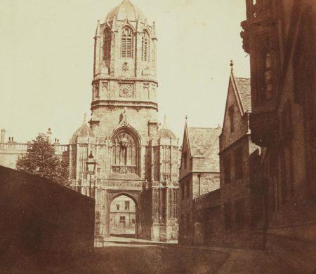 William Henry Fox Talbot-Gates of Christchurch, Oxford-1844