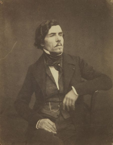 Victor Laisne-Eugene Delacroix-1852
