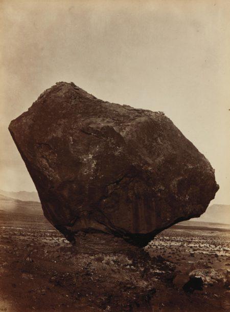 William Bell-Perched Rock, Rocker Creek, Arizona-1872