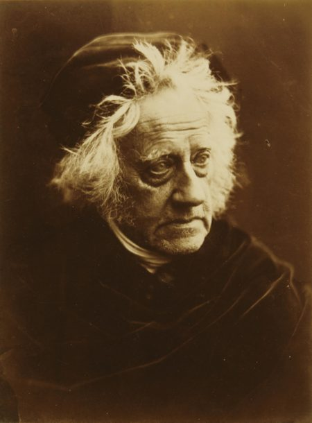 Julia Margaret Cameron-Sir John Herschel-1867