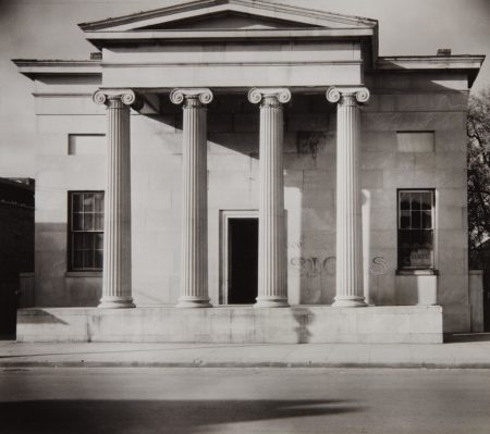 Walker Evans-Greek Revival Building, Natchez, Mississippi-1936