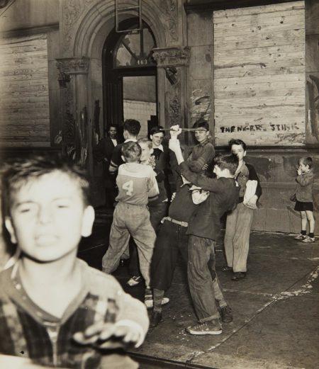 Weegee-Children (school is over)-1940