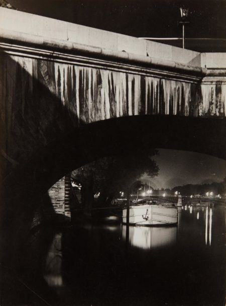 Brassai-The Seine at Night-1932