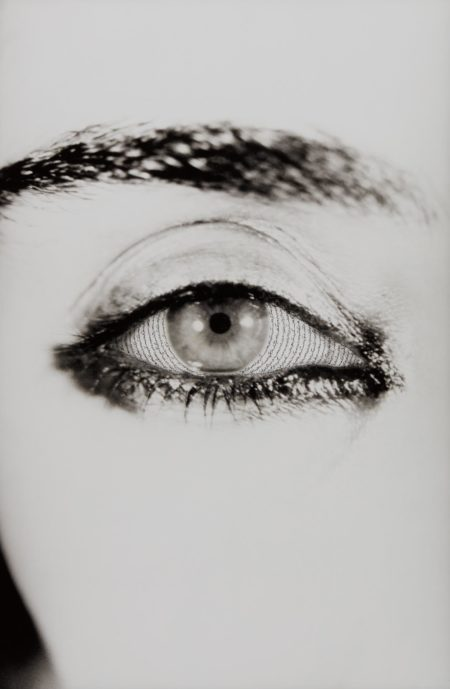Shirin Neshat-Offered Eyes from Unveiling-1993