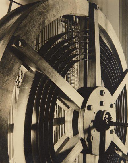 Margaret Bourke-White-Helix: Panel in NBC Mural, Radio City Music Hall-1934