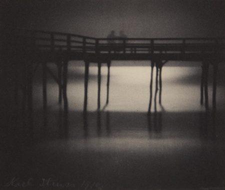 Karl Struss-Reflections, Moonlight, Arverne, Long Island-1910