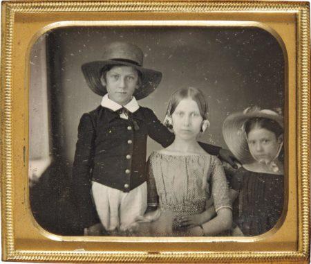 Unknown Photographer - Childhood Portrait-1850