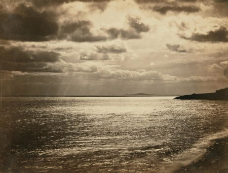 Gustave Le Gray-Mediterranean with Mount Agde-1857
