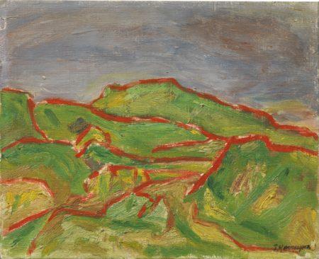 Takeo Yamaguchi-Kumori (Cloud)-1950