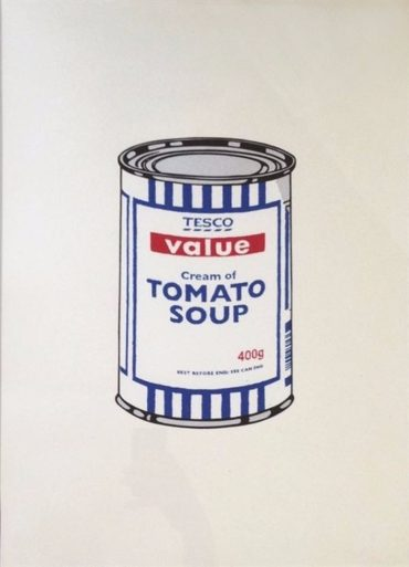 Banksy-Soup Cans-2005