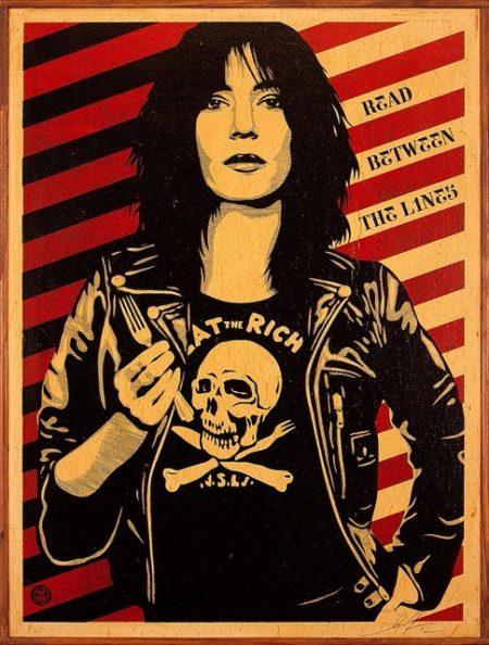 Shepard Fairey-Eat The Rich-