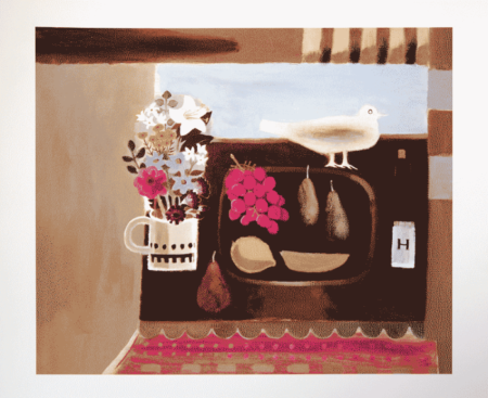 Mary Fedden-The White Bird-