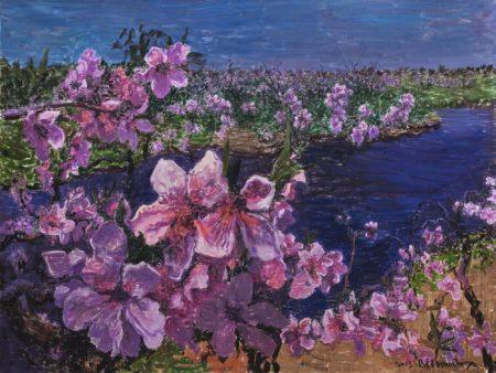 Zhou Chunya-Peach Blossom-2013