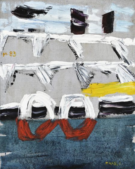 Ma Kelu-Abstract Composition-1983