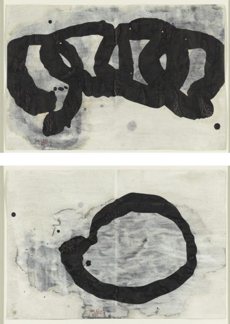 Yang Jiechang-Untitled (Set Of Two)-1999