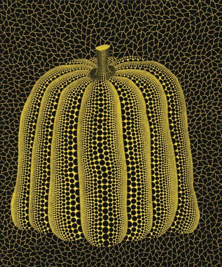 Yayoi Kusama-Pumpkin H.Q-1990