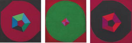 Nobuya Abe-Untitled (Set Of Three)-1968