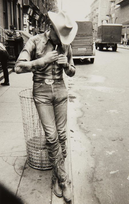 Robert Frank-Rodeo - New York City-1954