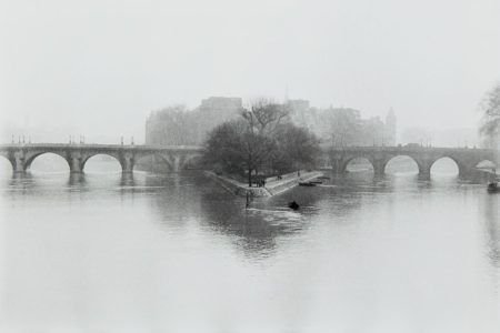 Henri Cartier-Bresson-Ile de la Cite, Paris-1951