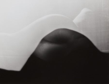 Erwin Blumenfeld-Nude behind Screen, Paris-1938