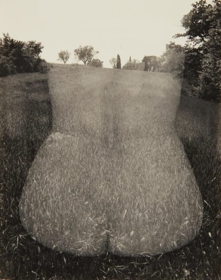 Harry Callahan-Aix-en-Provence (Nude, Back)-1958