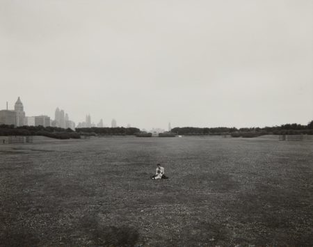 Harry Callahan-Eleanor & Barbara, Chicago (Grant Park)-1953