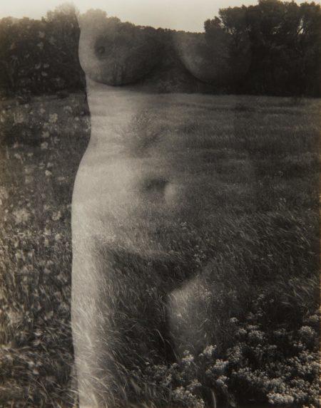 Harry Callahan-Aix-en-Provence (Nude, Front)-1958