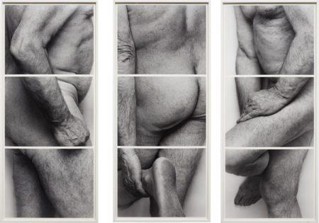 John Coplans-Self-Portrait, Frieze, No. 4, 3 Panels-1994