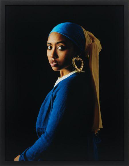 Awol Erizku-Girl with a Bamboo Earring-2009
