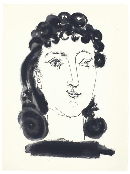 Pablo Picasso-Gongora - Vingt Poemes (B. 476-516; C. Bks 51)-1948