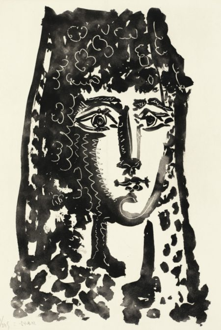 Pablo Picasso-Prosper Merimee - Louis Aragon. Le Carmen Des Carmen (B. 1000-1005; C. Bks 126)-1964