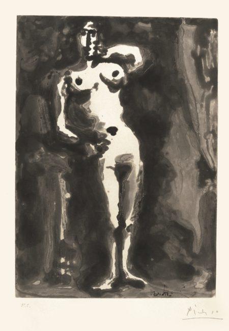 Pablo Picasso-Nu Accoude (B. 1190; Ba. 1159)-1965